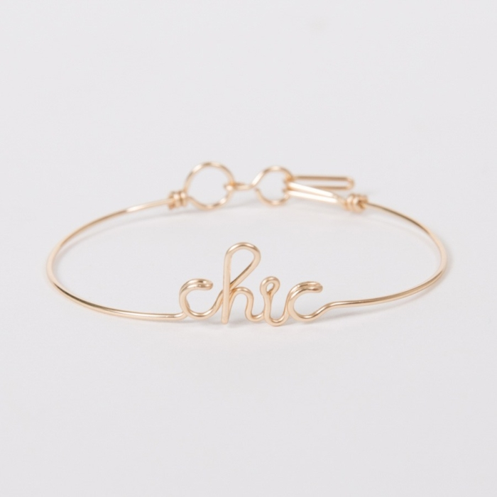 Bracelet Chic - Yellow Gold