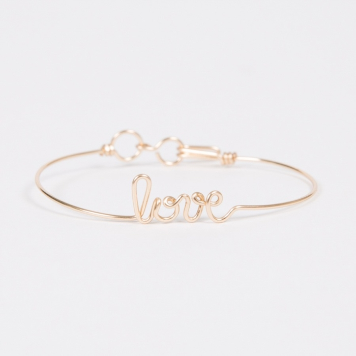 Bracelet Love - Yellow Gold