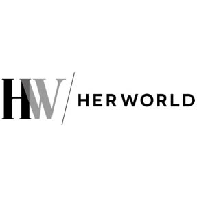 Her world - logo